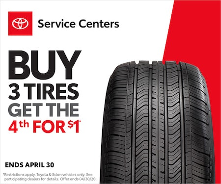 Toyota April Tire Event