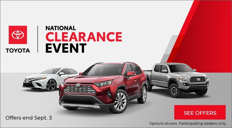 Toyota Offers, Inventory, and Dealerships - Special Offers
