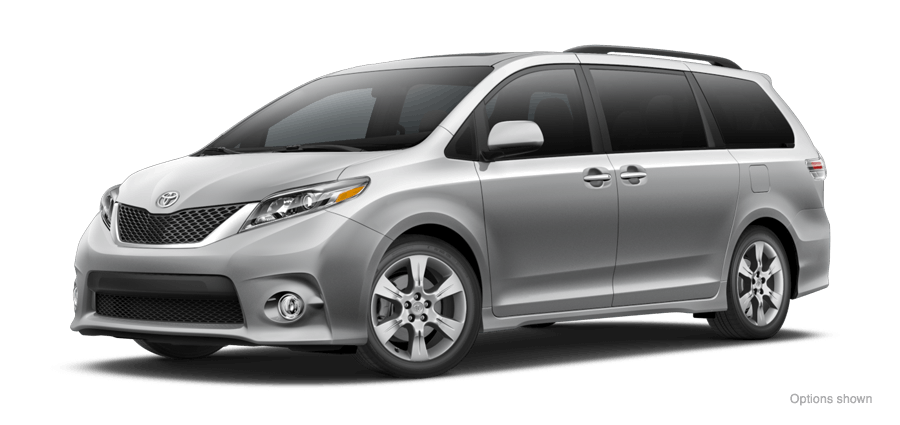 2016 toyota sienna se premium 8 passenger vs dodge grand caravan r t. Black Bedroom Furniture Sets. Home Design Ideas