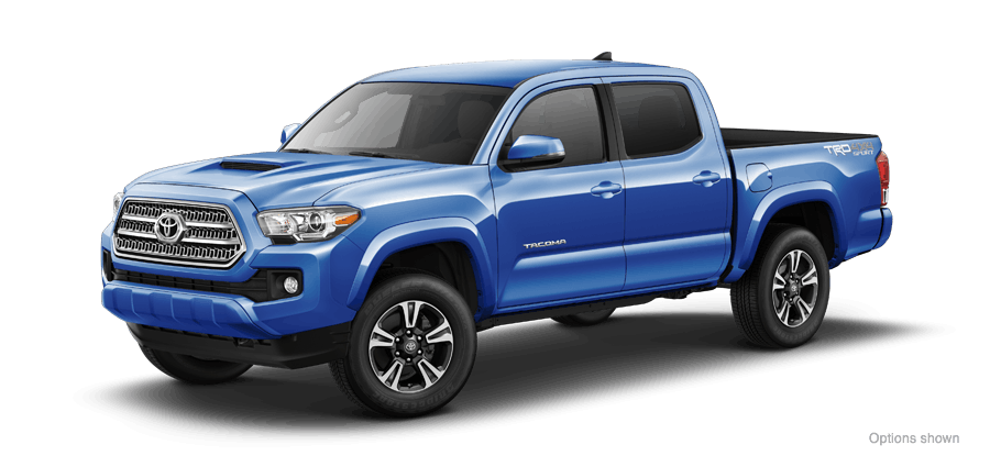 2016 Toyota Tacoma 4x4 Double Cab TRD Sport vs Chevrolet Colorado
