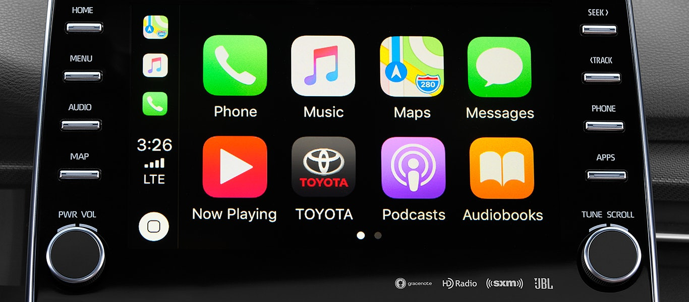 2020 Toyota Avalon Apple CarPlay expanded gallery image