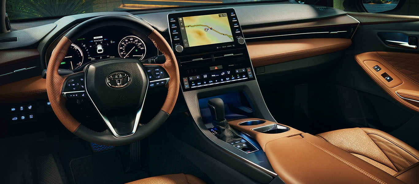 2020 Toyota Avalon Hybrid interior expanded gallery image