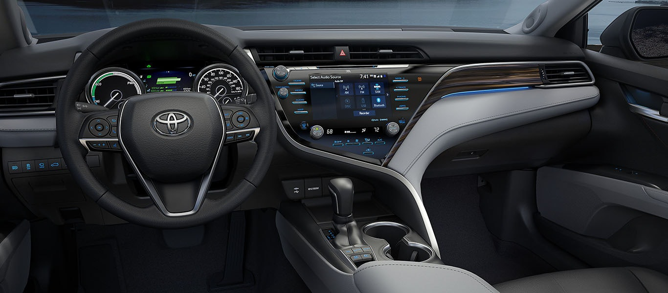 2020 Toyota Camry Hybrid interior expanded gallery image