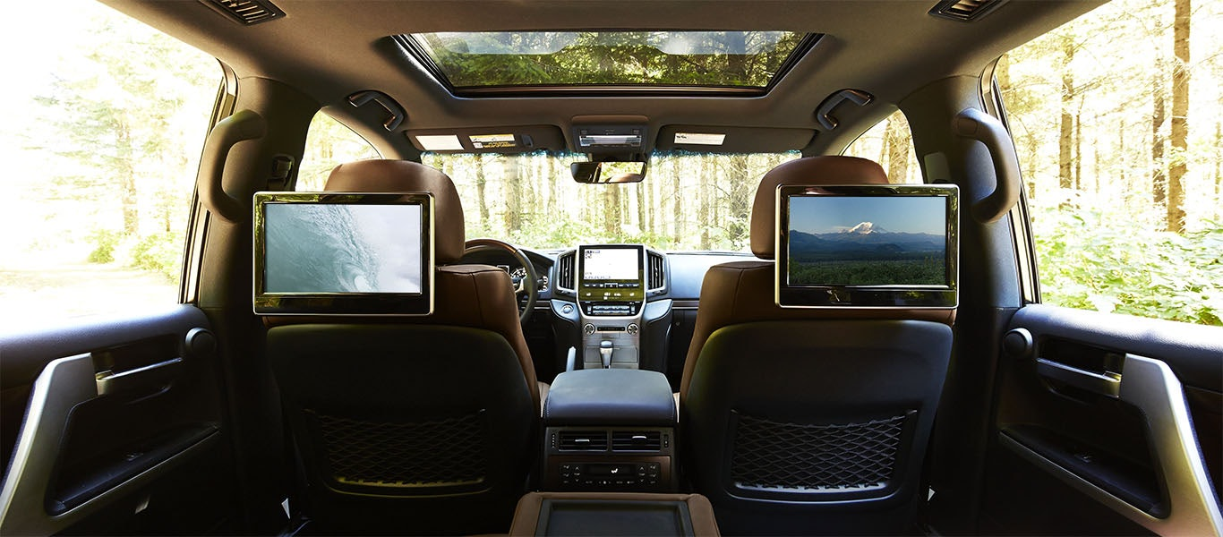 Rear-Seat DVD Entertainment System