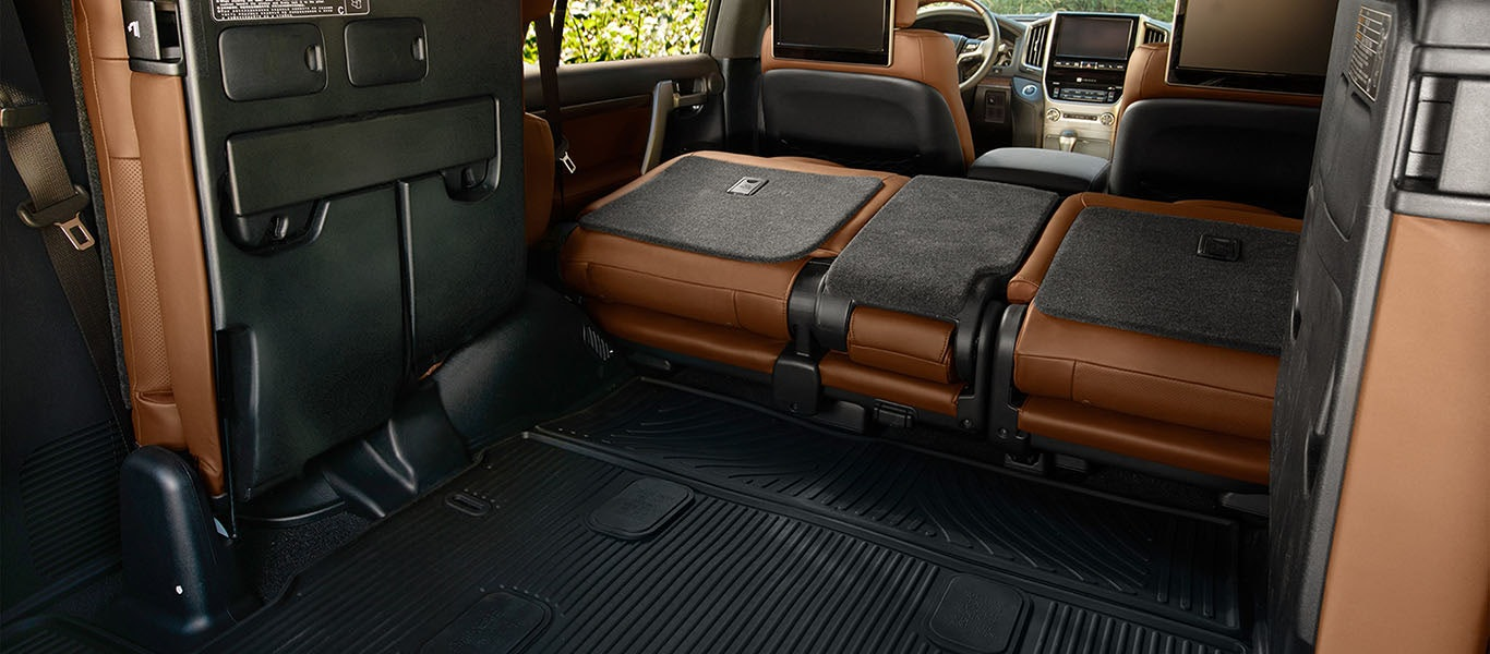 2020 Toyota Land Cruiser cargo space expanded gallery image