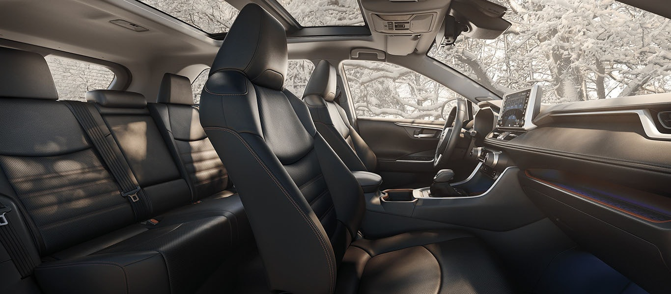 2020 Toyota RAV4 interior expanded gallery image