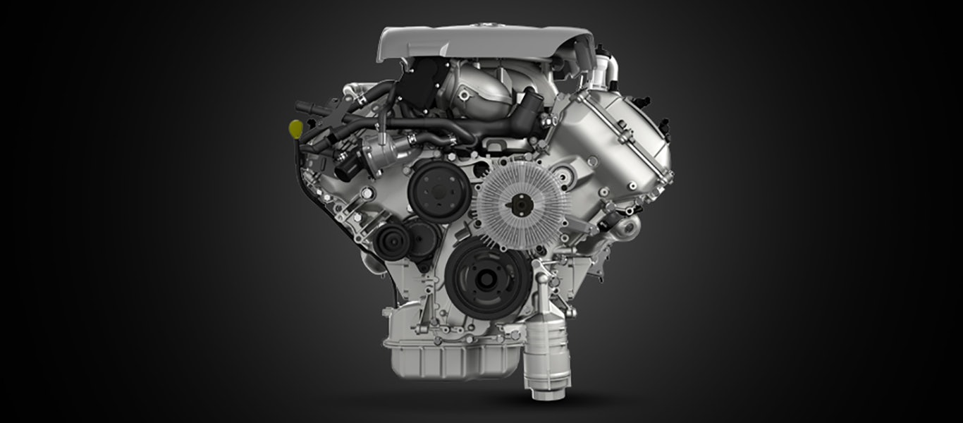 Powerful V8 Engine Gallery