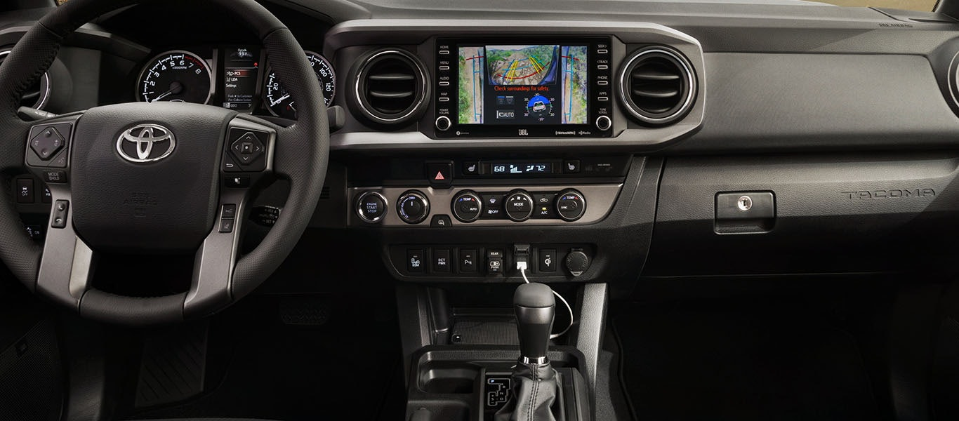 2020 Toyota Tacoma Command Center Expanded Image