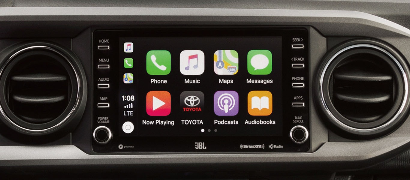 Toyota Tacoma 2020 Apple CarPlay